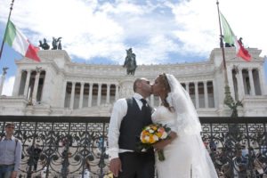 Italian wedding photographer in Rome