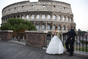 Italy wedding photographer in Rome